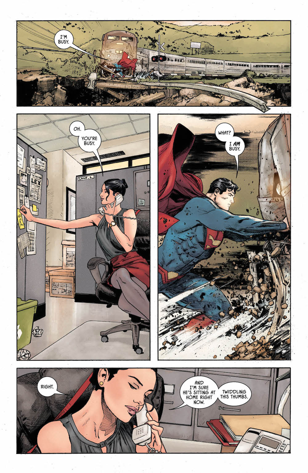 Lois Lane, Batman 36, 2017