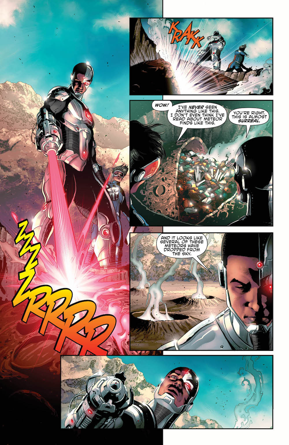 Cyborg #19, Grevioux arc