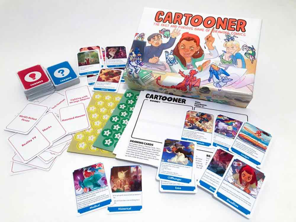 Cartooner Game Contents