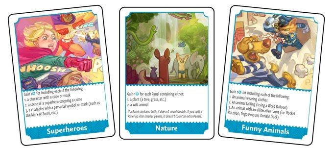 Cartooner Trend Cards
