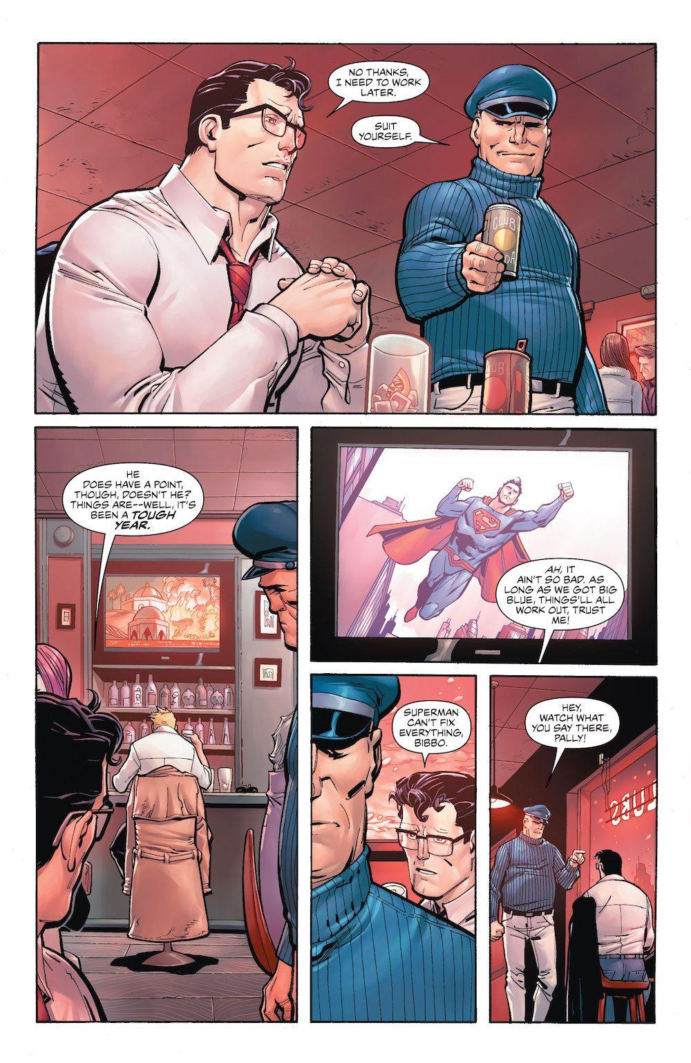 Bibbo, Clark Kent, DC Holiday Special 2017