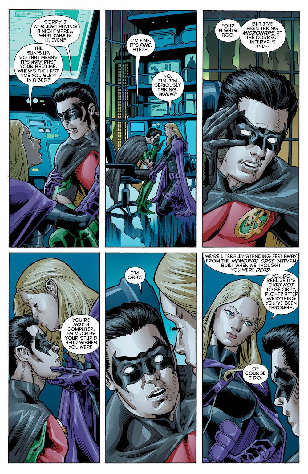 Tim Drake, Stephanie Brown, Detective Comics 970