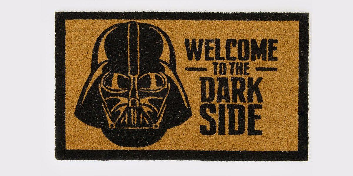 Dark Side Door Mat \ Image: Spencers