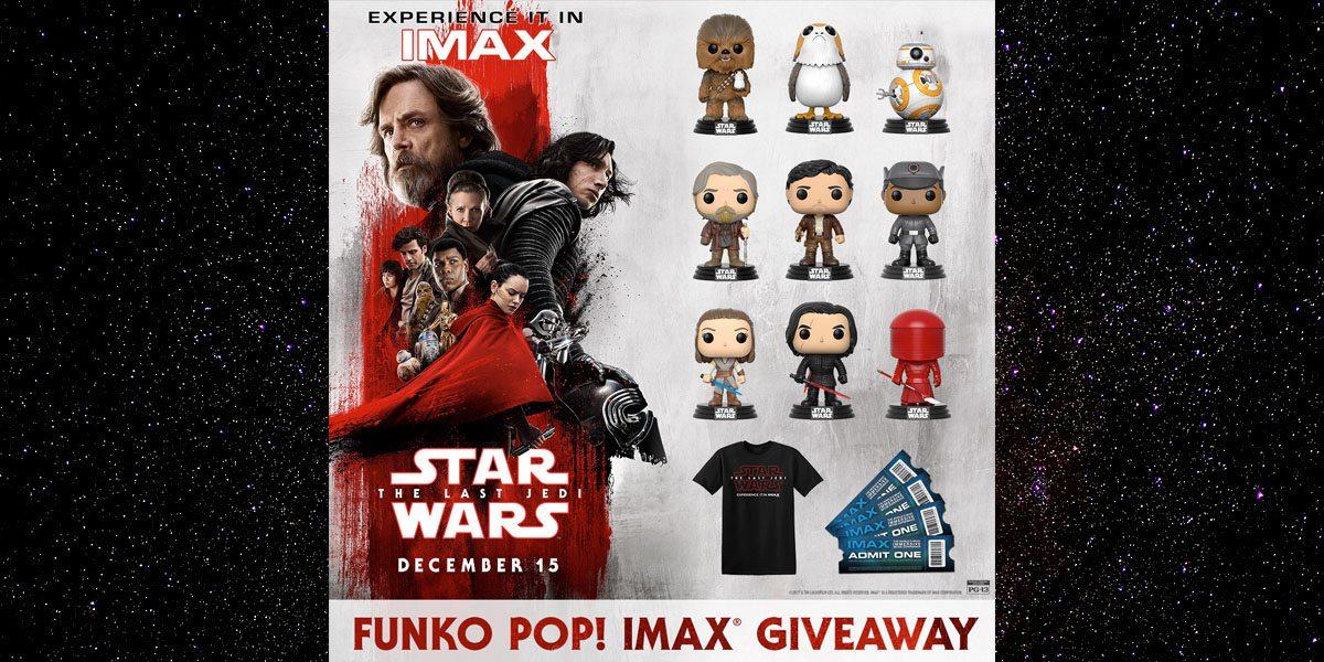 Funko IMAX Giveaway  Image: IMAX