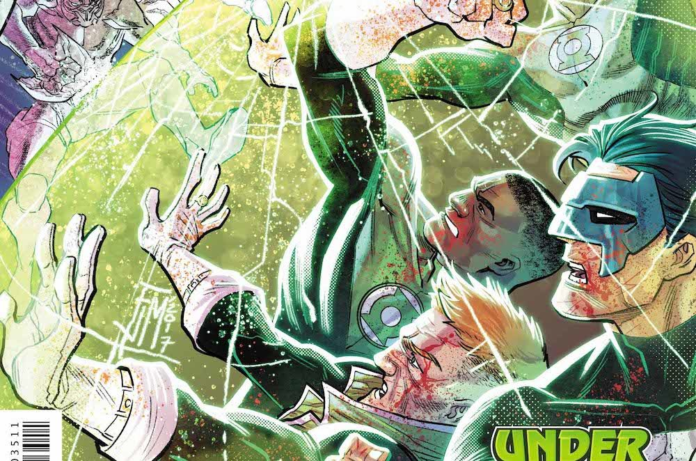 Hal Jordan and the Green Lantern Corps #35 cover