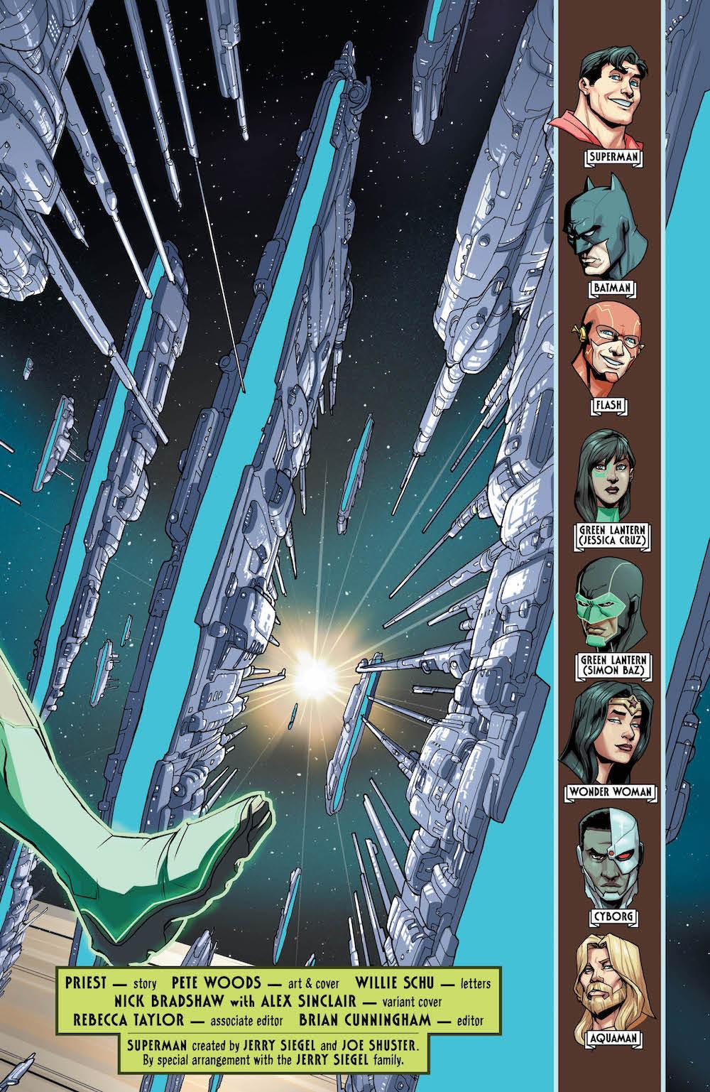 Pete Woods, Justice League #34