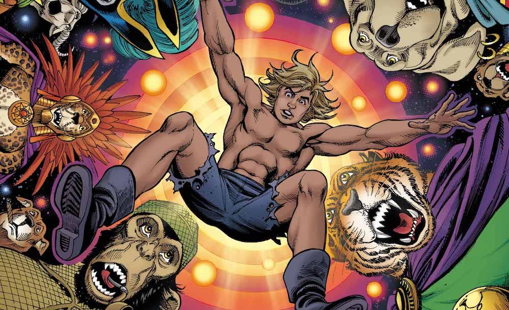 Kamandi Challenge #12 varian cover by Jose Garcia Lopez