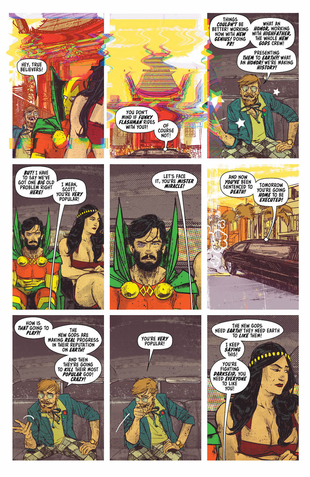 Funky Flashman, Mister Miracle, Big Barda, Mister Miracle 5