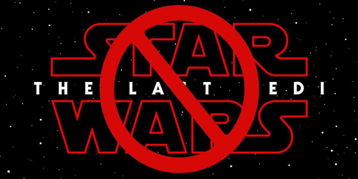 No Last Jedi for me  Image: Dakster Sullivan