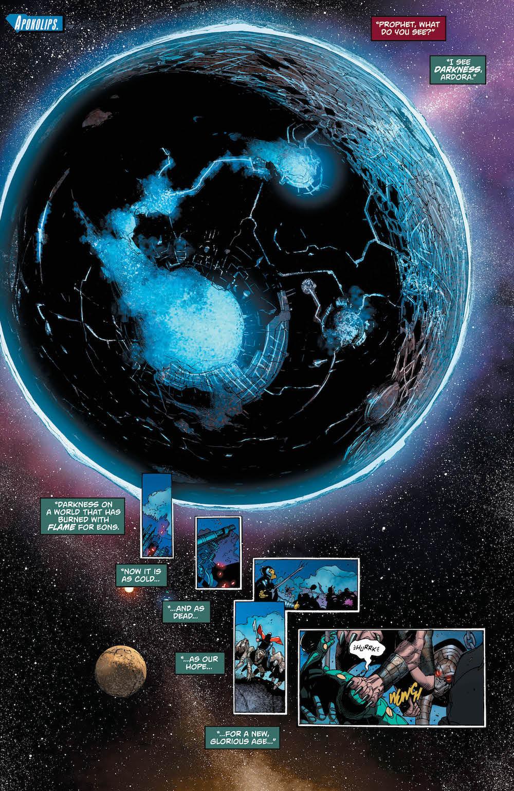 Superman 36, Apokolips, Lex Luthor