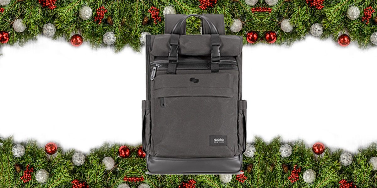 Solo Cameron Roll Top Backpack \ Image: Solo
