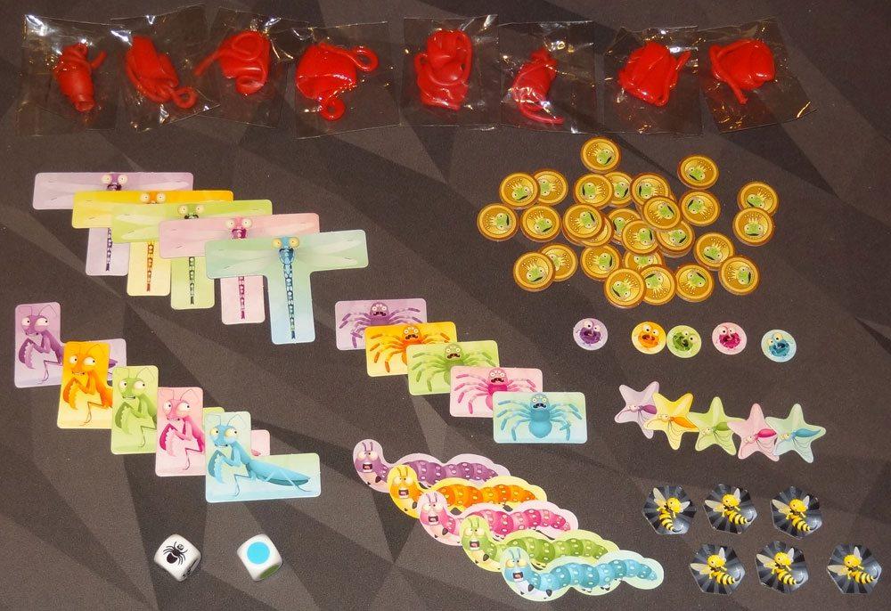 Sticky Chameleons components