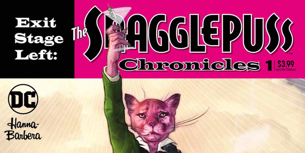 The Snagglepuss Chronicles #1 cover