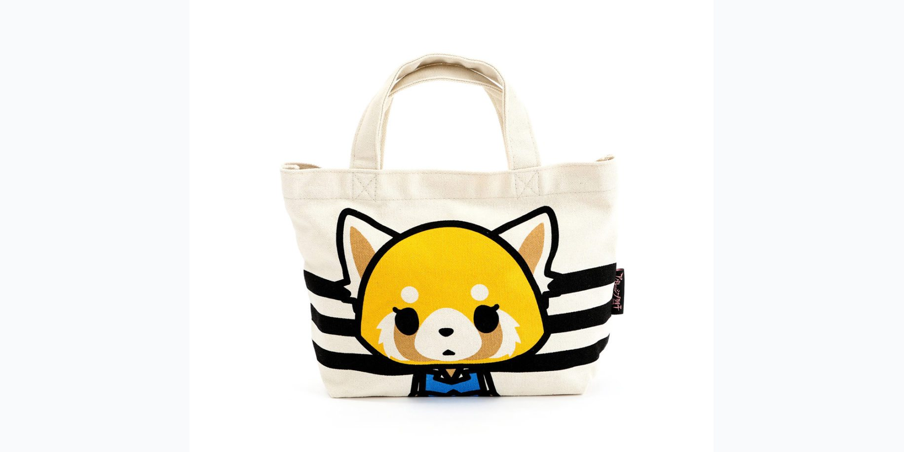Aggretsuko Mini Canvas Tote Bag: Calm \ Image: Sanrio