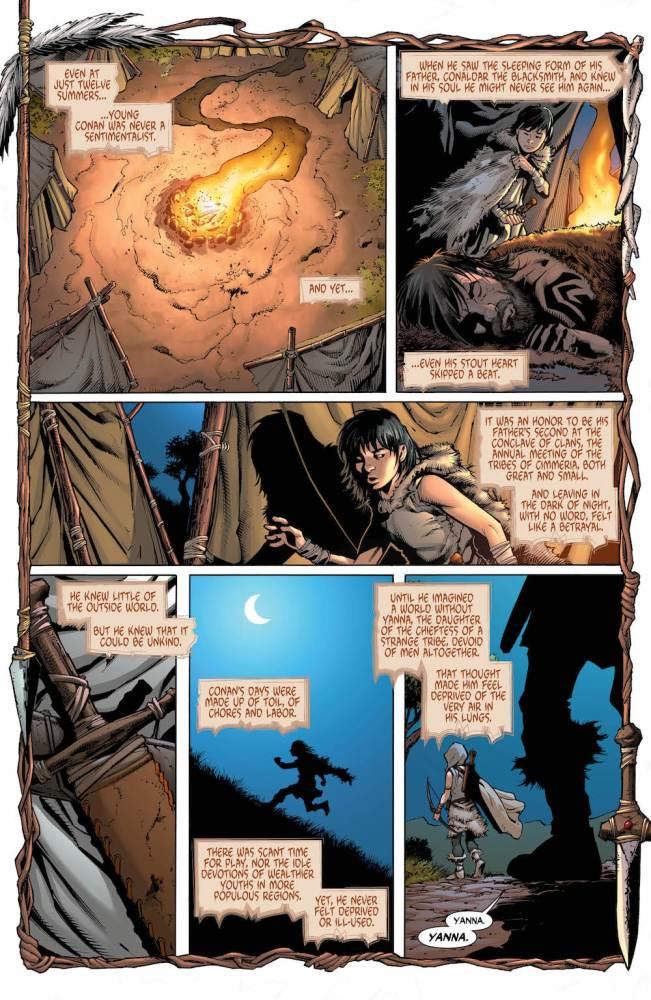 Wonder Woman/Conan #4 page 1