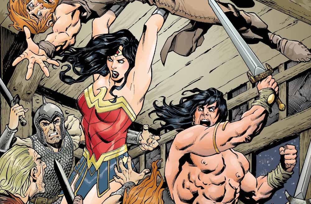 Wonder Woman/Conan #4 variant cover