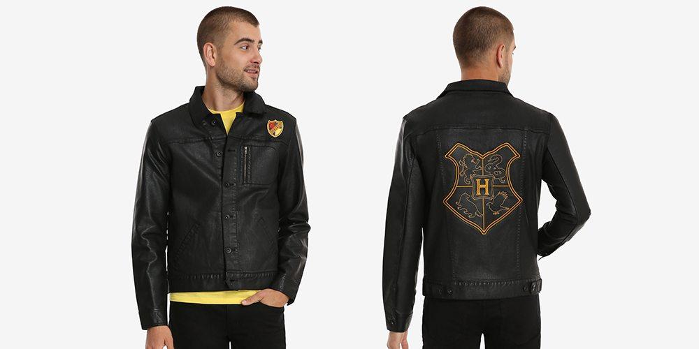 Harry Potter Hogwarts Crest Denim Jacket