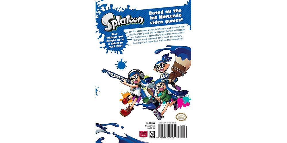 splatoon vol 1 back