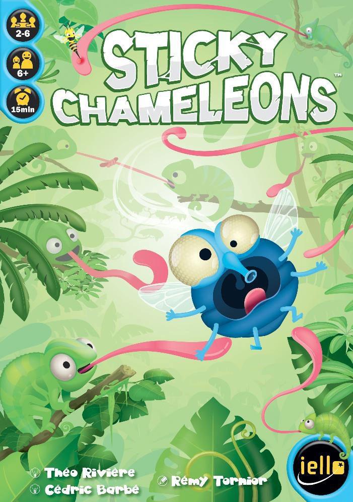 Sticky Chameleons cover