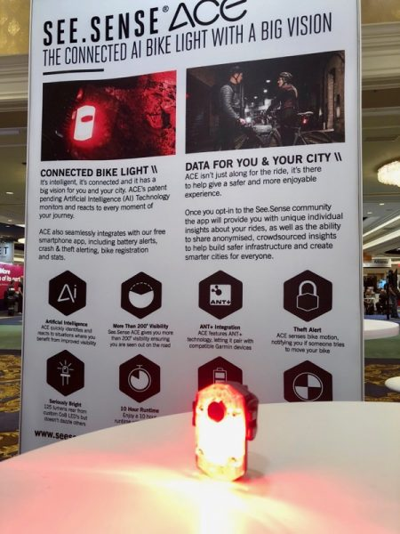 connected ai bike light