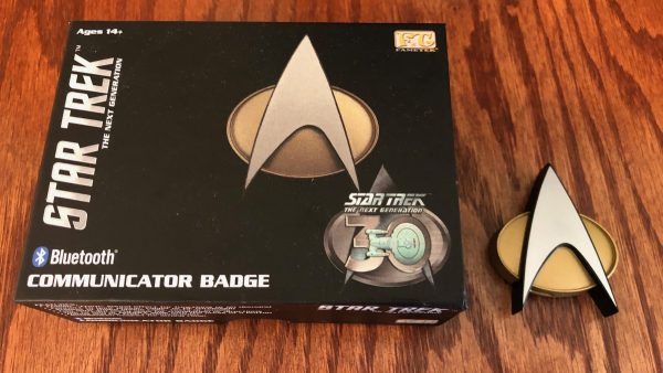 Star Trek 30th Anniversary Edition Communicator Badge