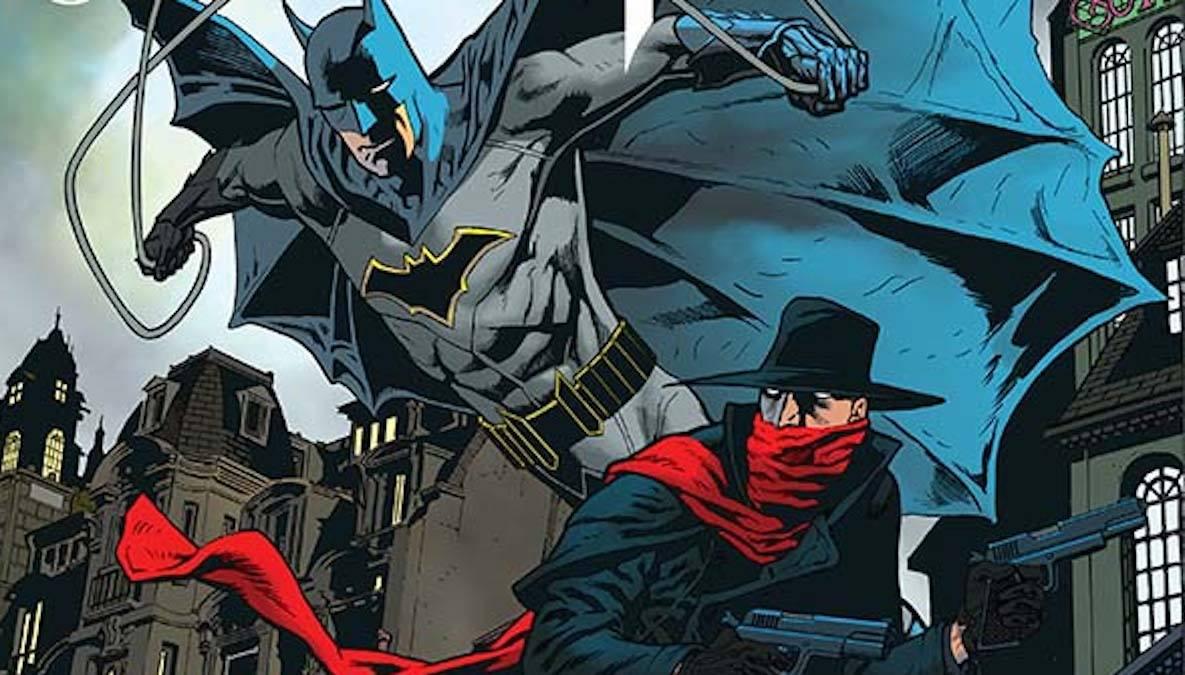 The Shadow/Batman #3 cover