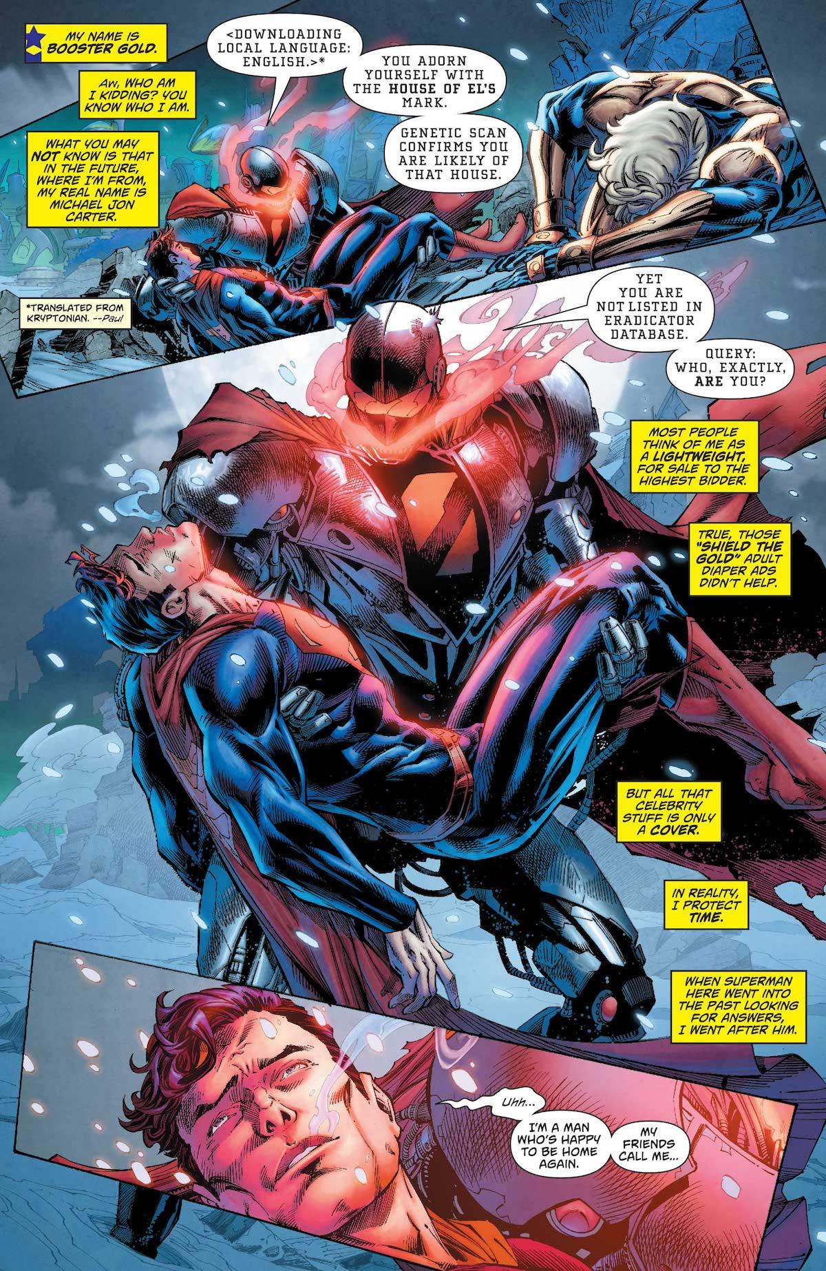 Superman: Action Comics #995 interior art