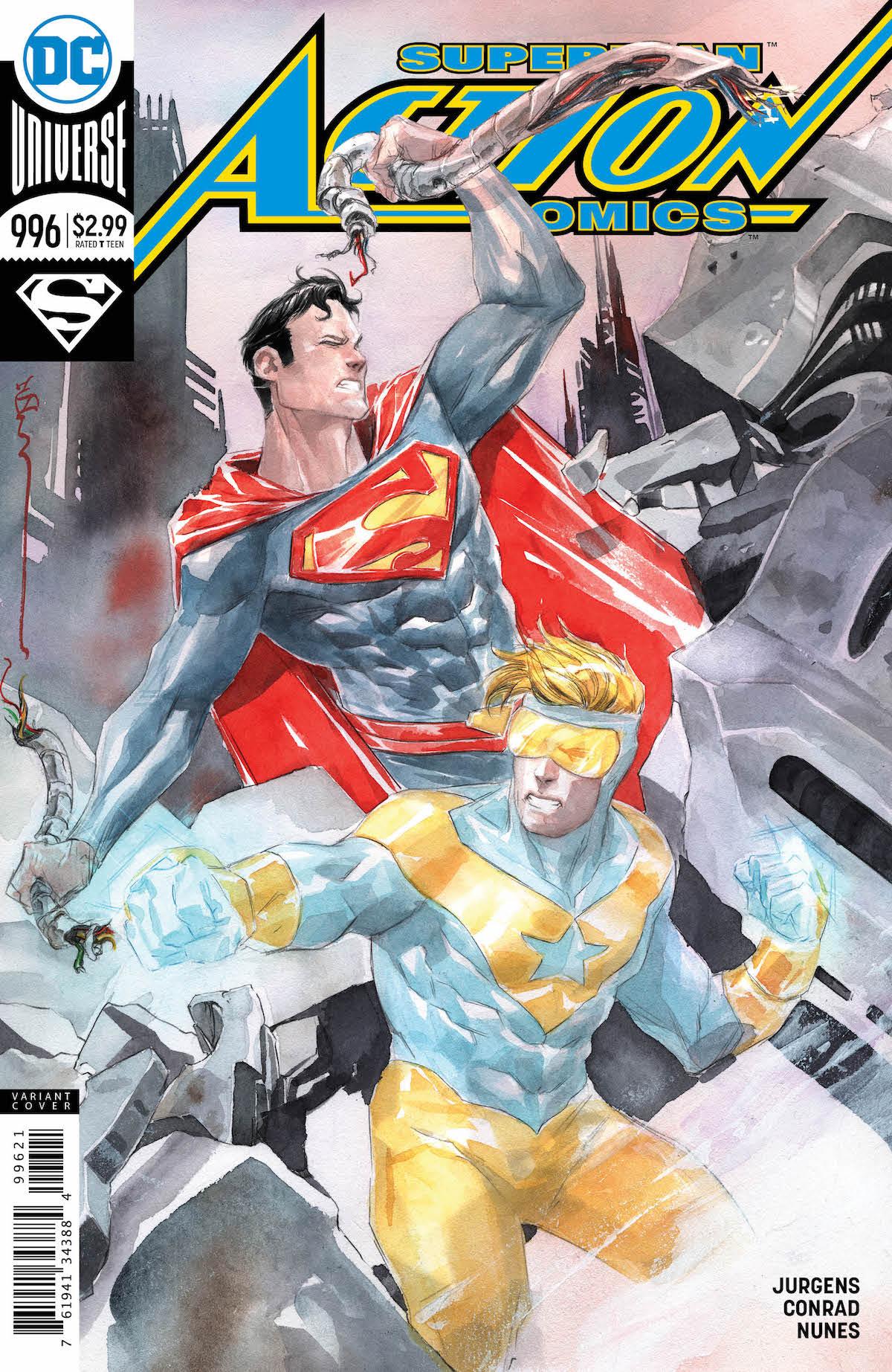 Superman: Action Comics #996 variant cover