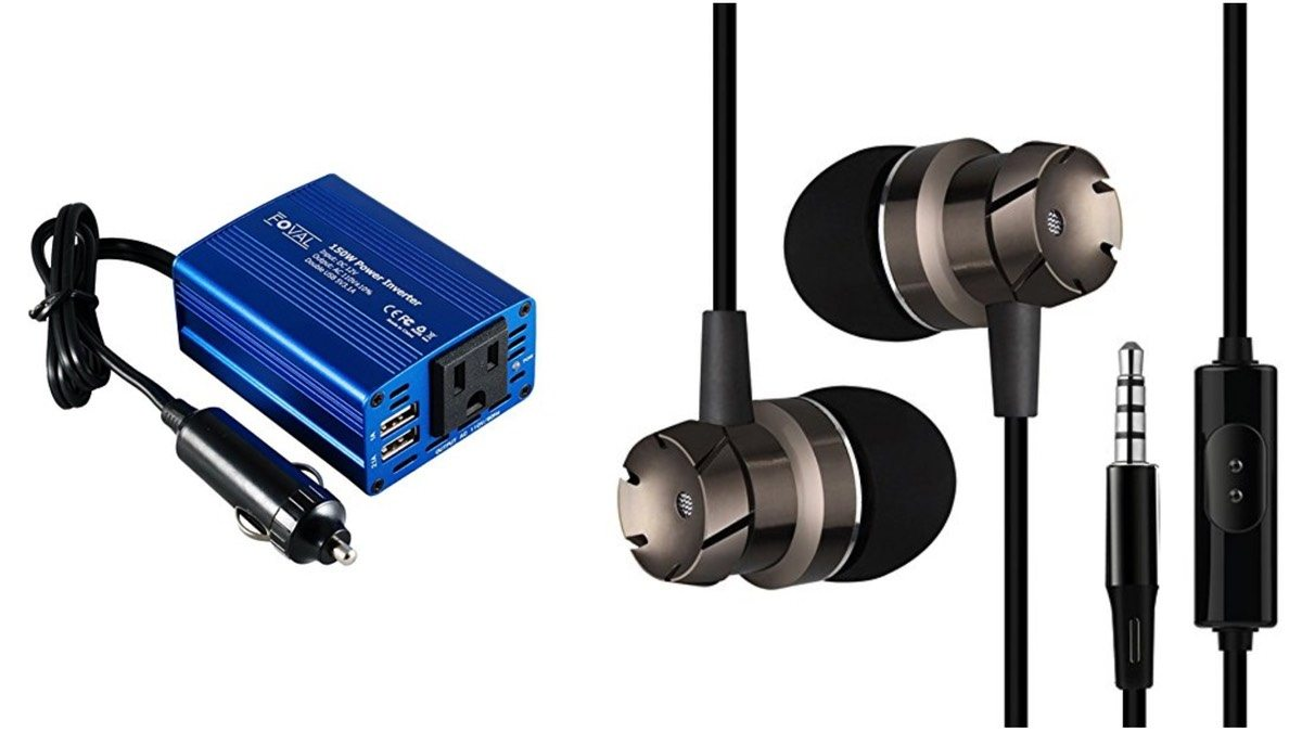 Geek Daily Deals 010718 power inverter cheap earbuds