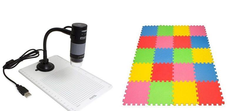 Geek Daily Deals 011218 usb microscope play mat