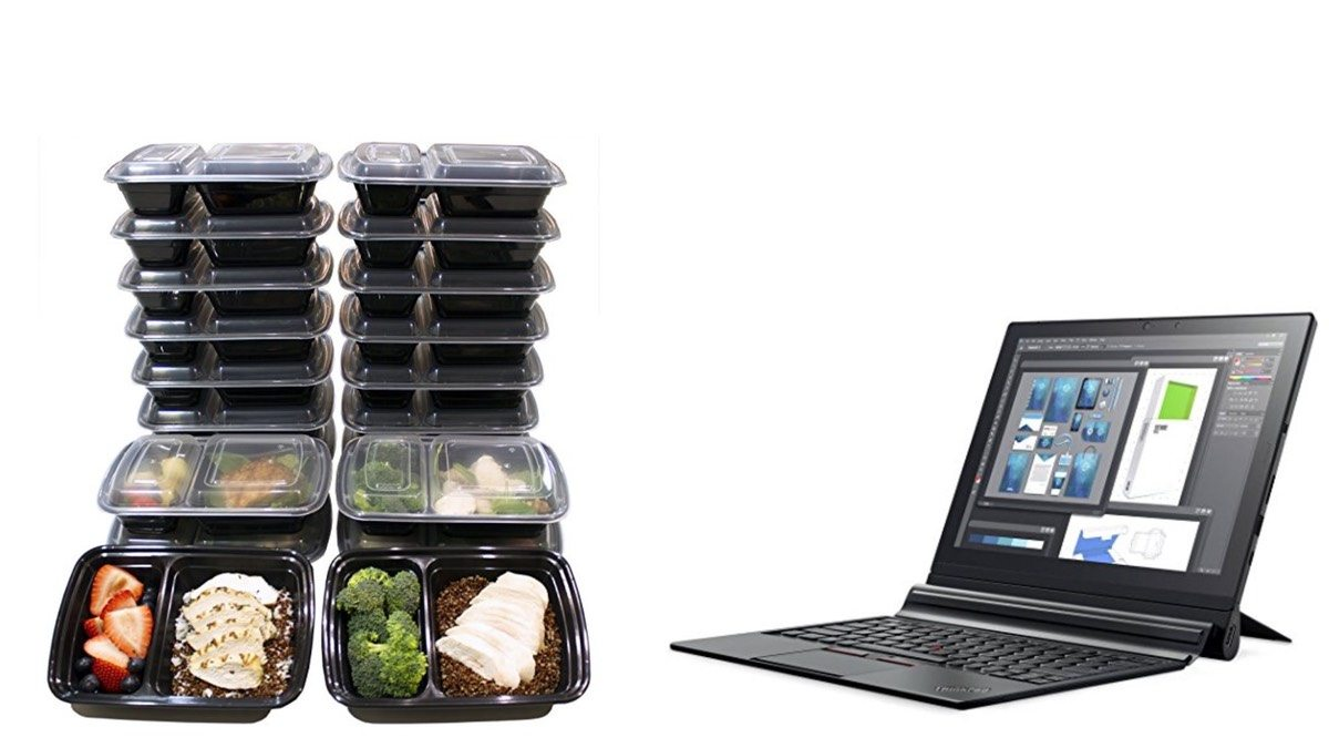 Geek Daily Deals 011718 food containers lenovo tablets
