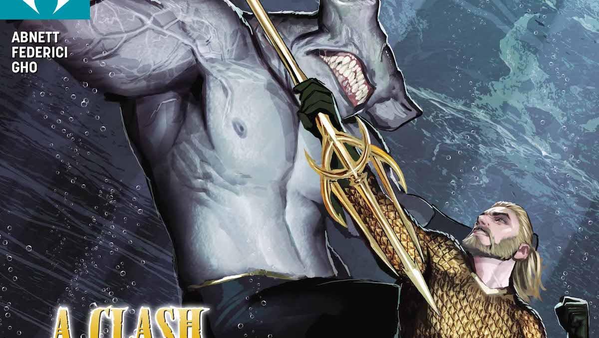 Aquaman #32 cover