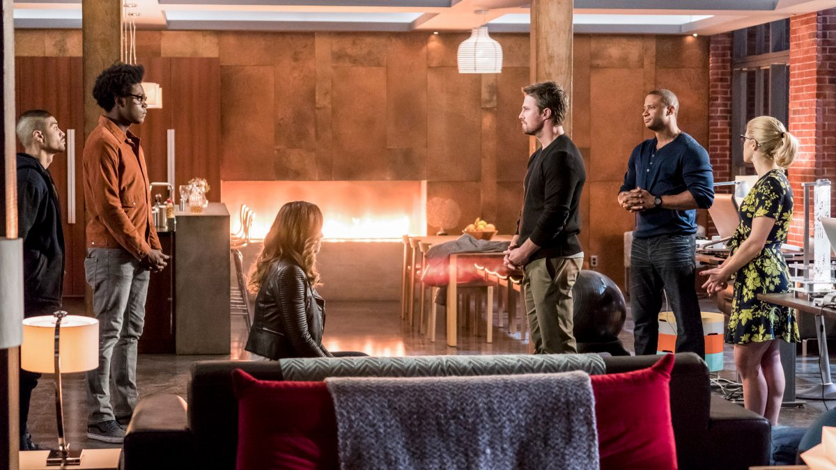 Arrow season 6 cast