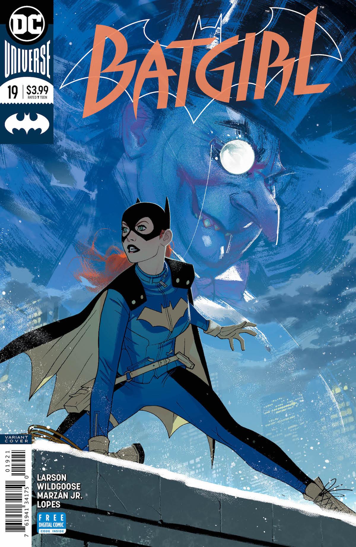 Batgirl #19 variant cover