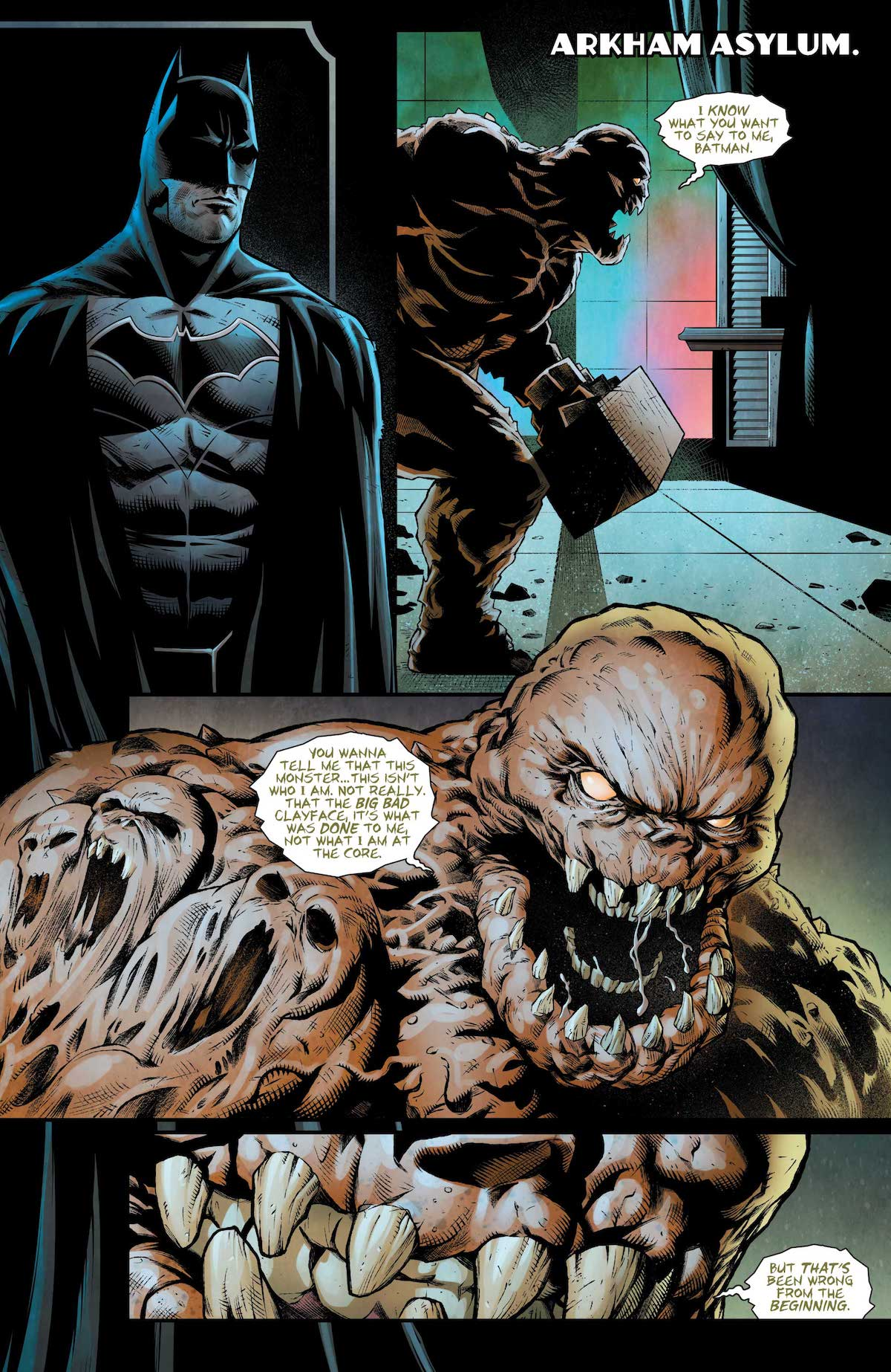 Batman: Detective Comics #972 page