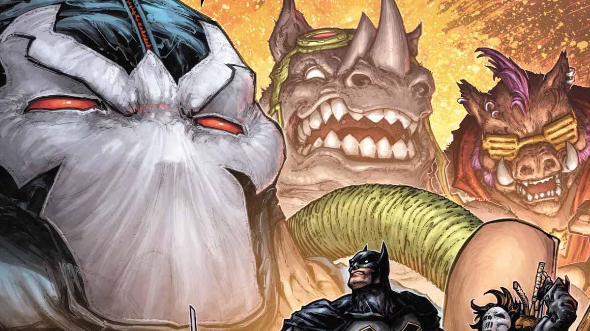 Batman/Teenage Mutant Ninja Turtles 2 #3 cover