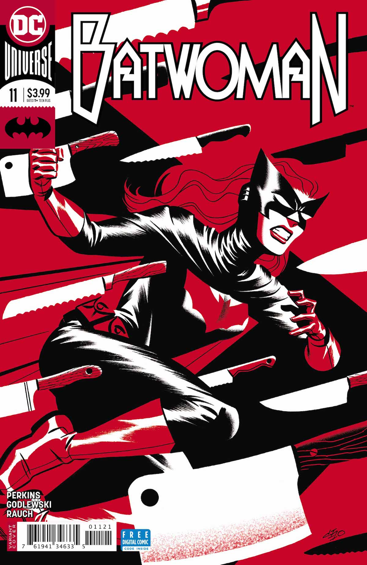 Batwoman #11 variant cover