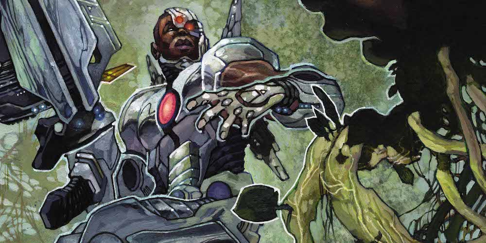 Cyborg #20 cover
