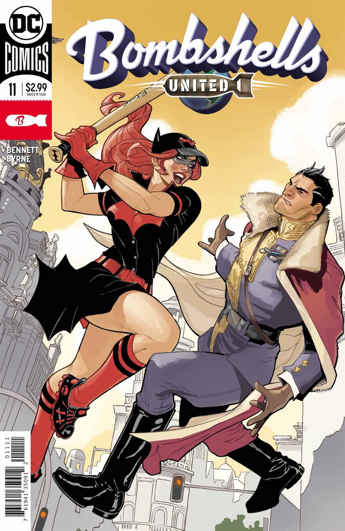 DC Bombshells United #11 cover