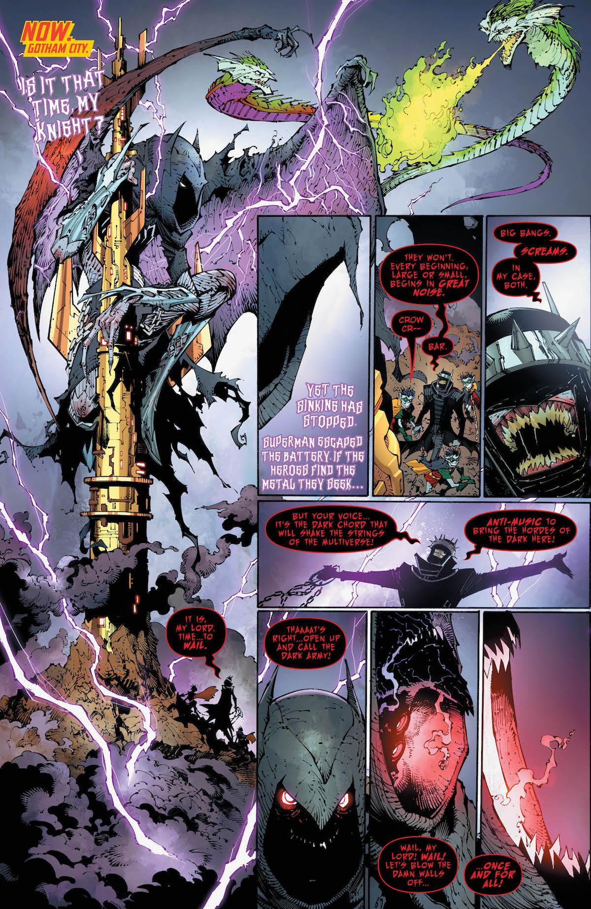 Dark Nights Metal #5 page 1