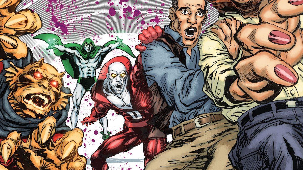 Deadman #3 cover, Neal Adams