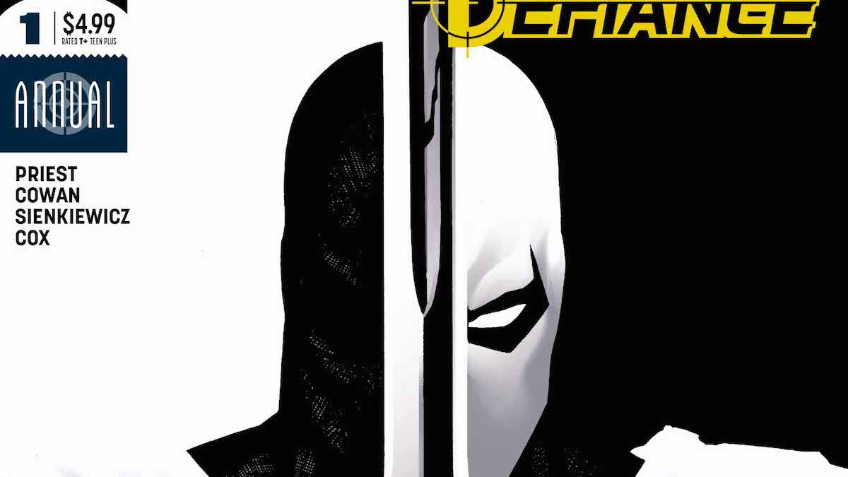 Deathstroke Annual #1 cover