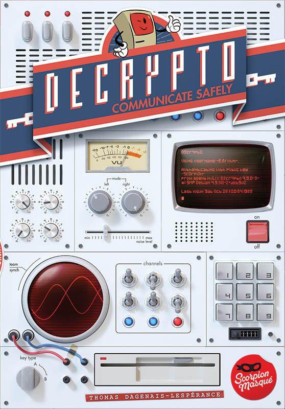 Decrypto box cover