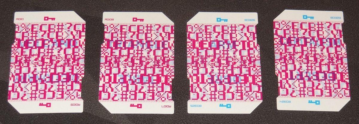 Decrypto keyword cards