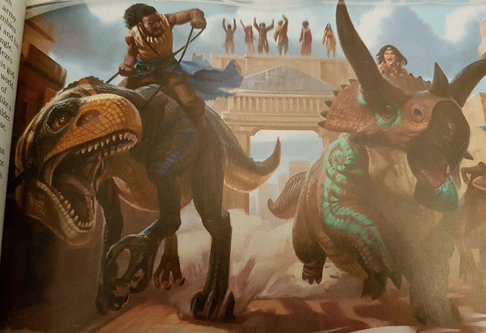 Tomb of Annihilation Dinosaur Racing
