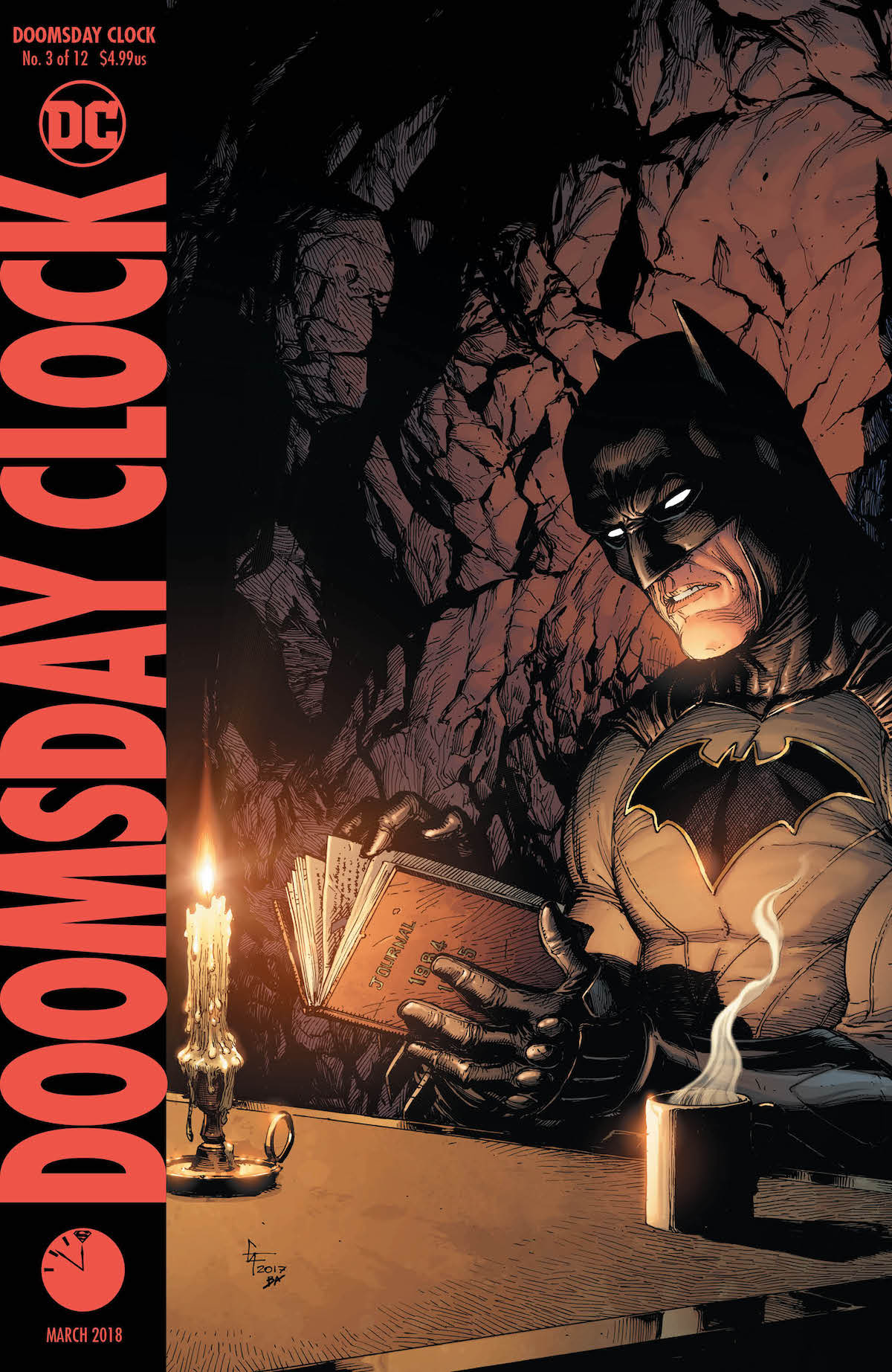 Doomsday Clock #3 variant cover