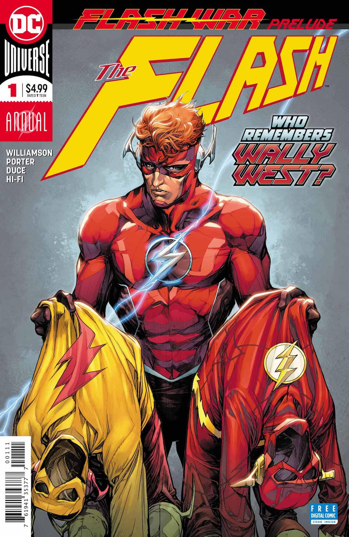 Flash Annual #1 cover