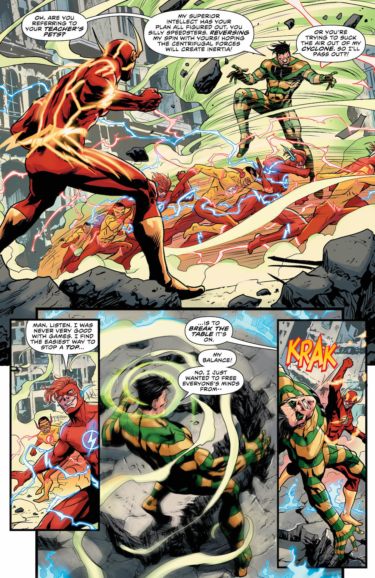 Flash Annual #1 page 10