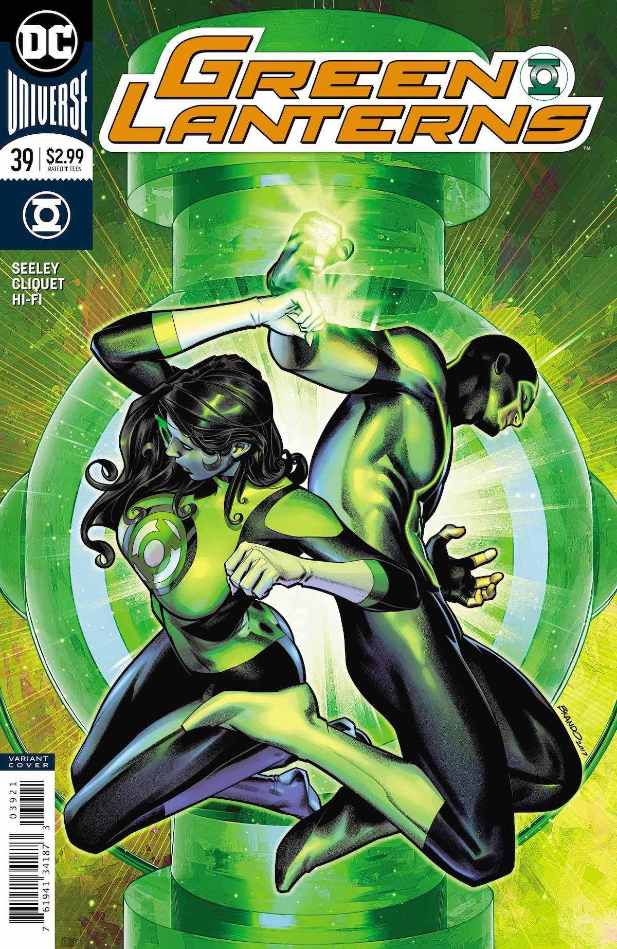 Green Lanterns #39 variant cover