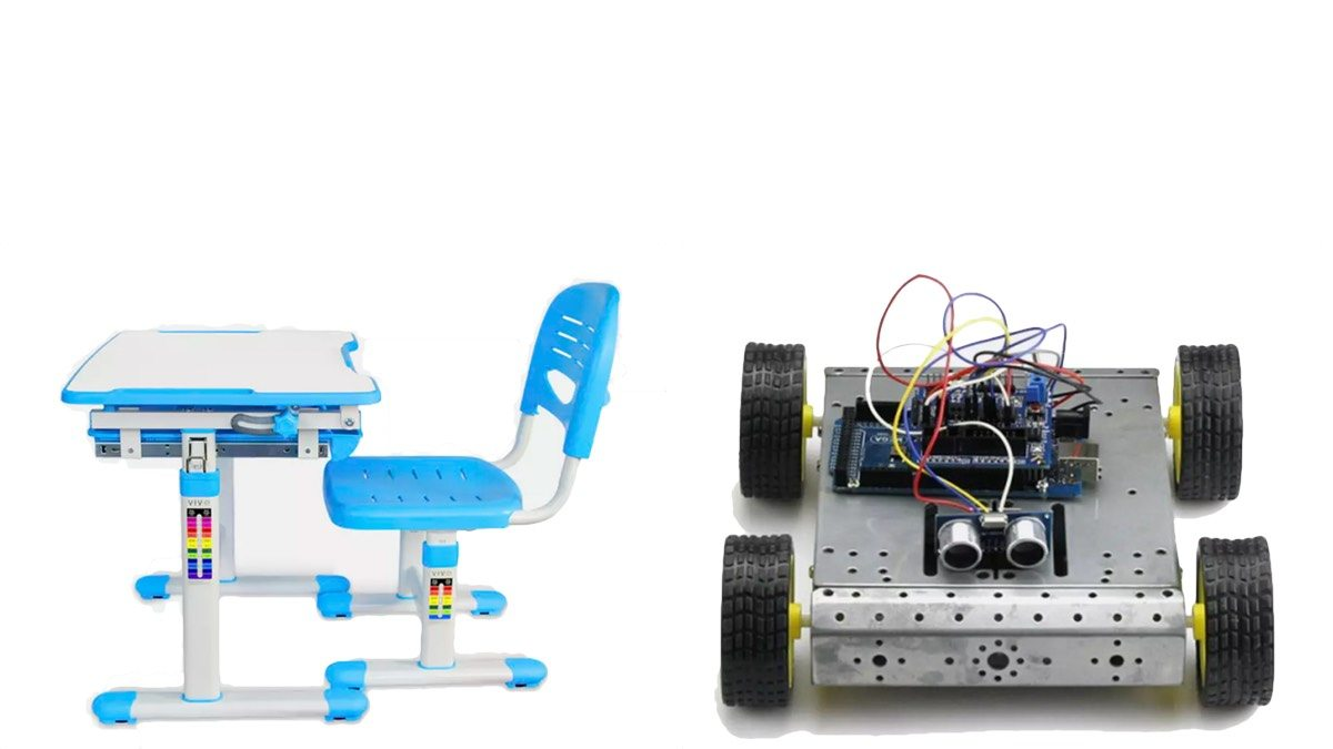 Geek Daily Deals 012018 kids desk arduino robot kit